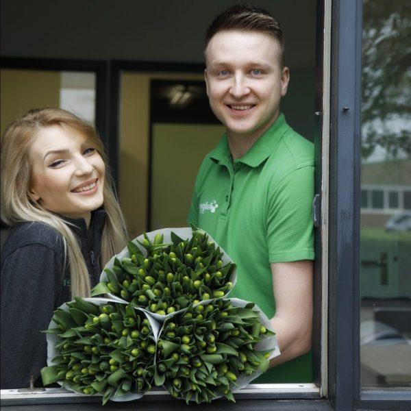 Werknemers Wesselman flowers